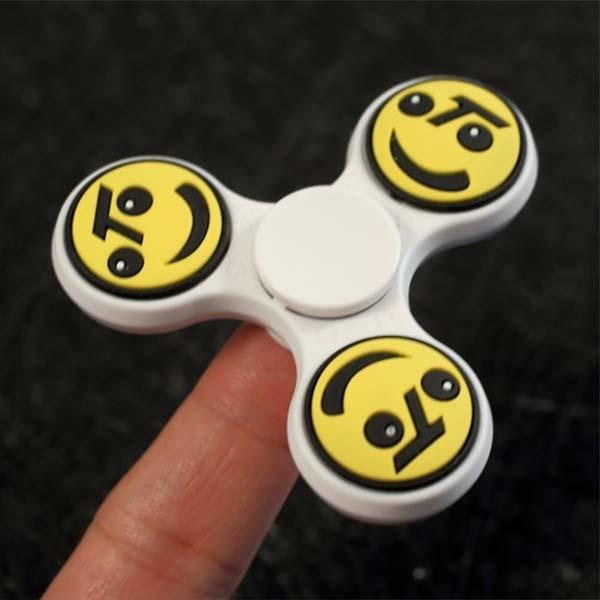 Image of   Smiley face fidget spinner