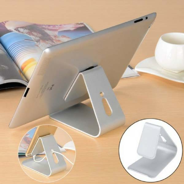 Image of   Alu bordholder til smartphone og tablet