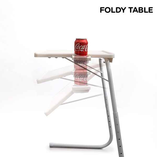 Image of   Foldy table m. kopholder