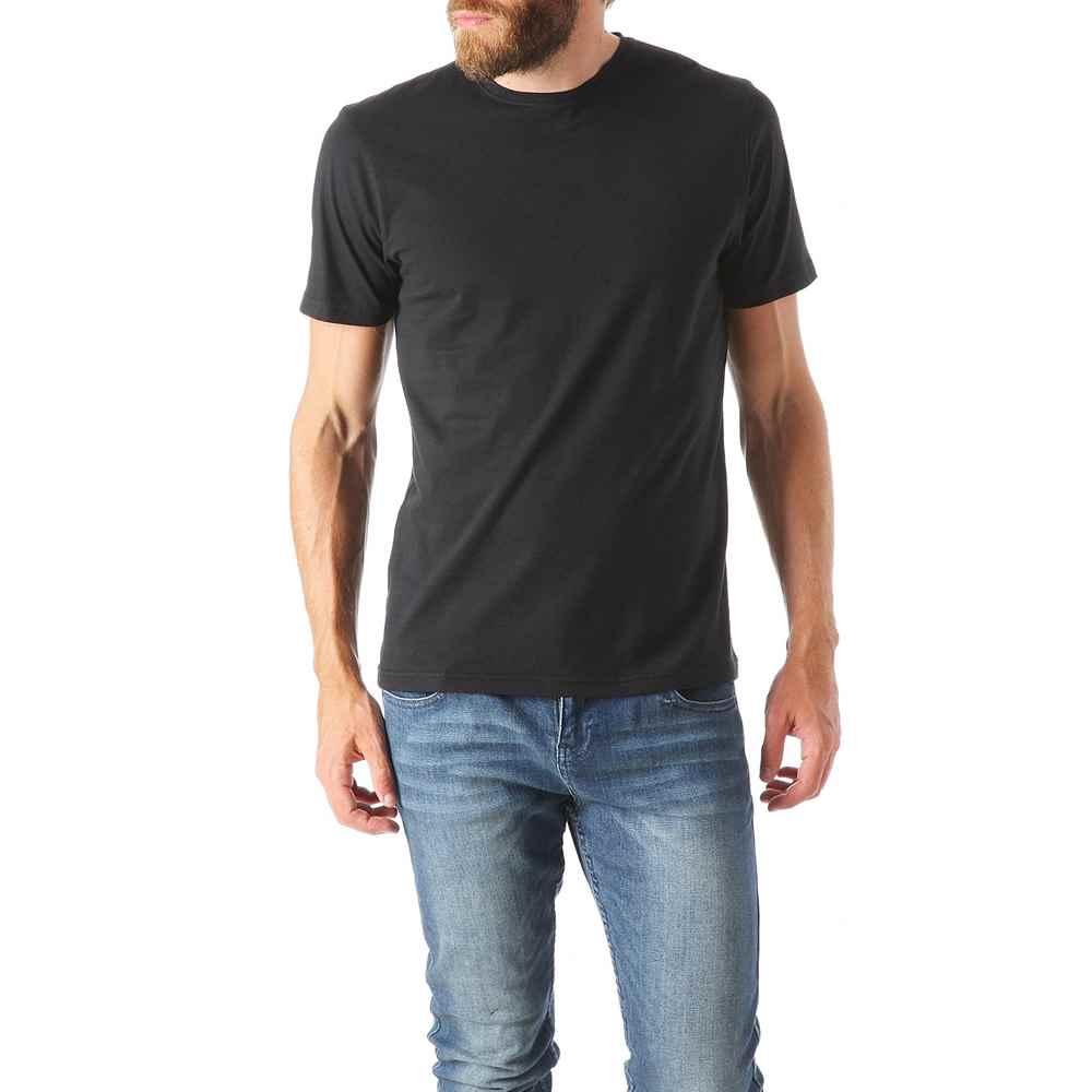 Image of   Basic herre T-Shirt - Sort