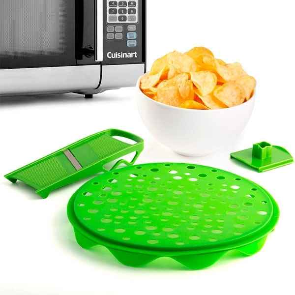 Image of   Chips maker til microvnen