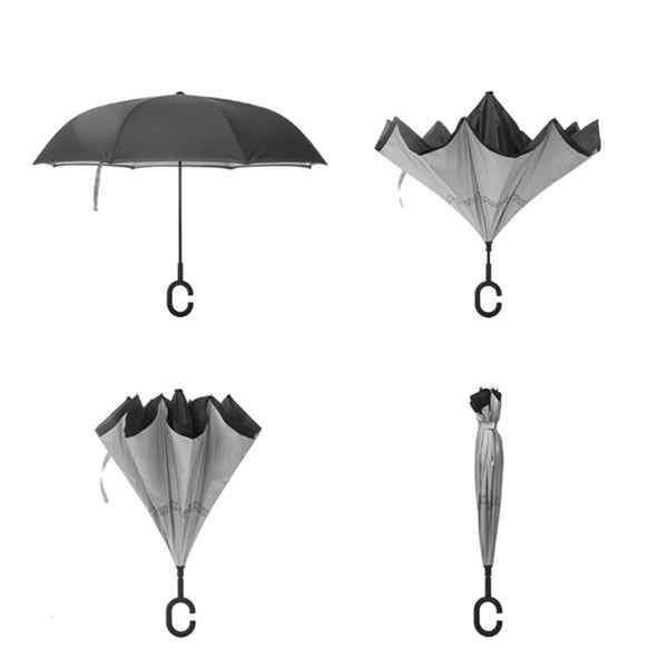 Image of   Coolbrella omvendt foldbar paraply
