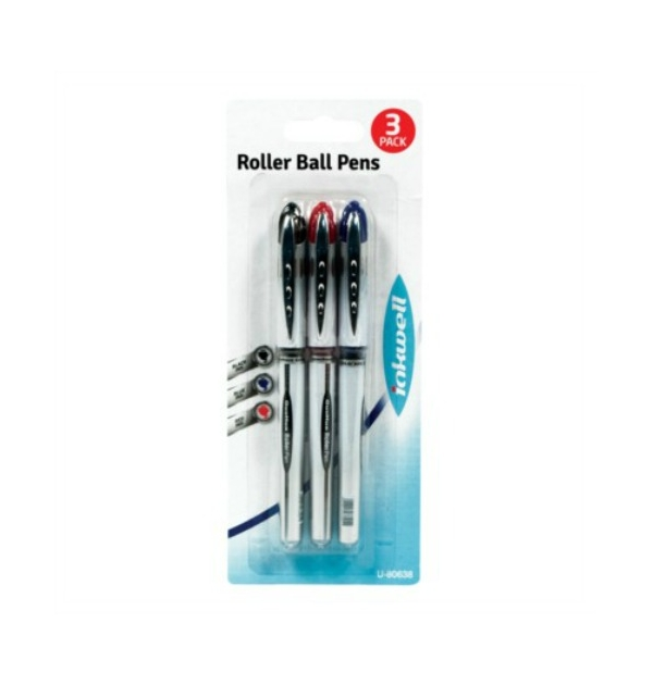 Image of   3 Rollerball kuglepenne