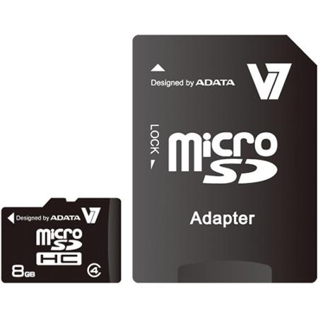Image of 8 GB Micro SDHC m. SD Adapter