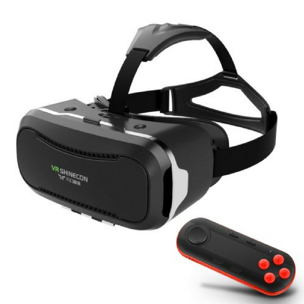 Shinecon 2.0 – 3D virtuel reality briller med remote