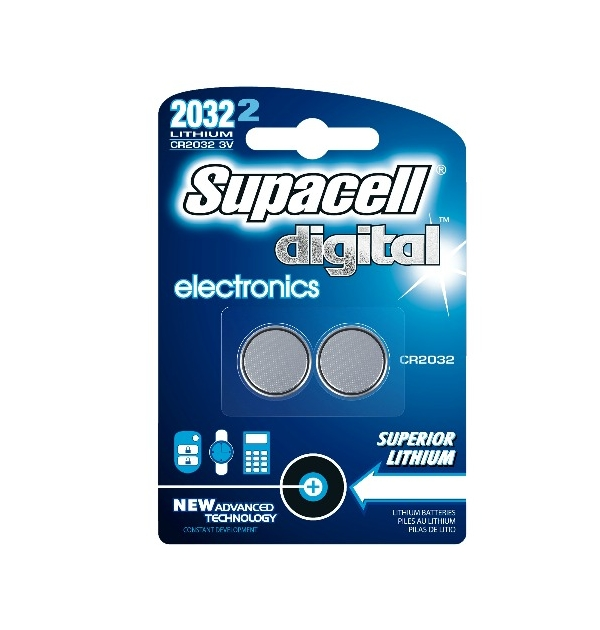 Supacell Electronic Batterier - CR2032